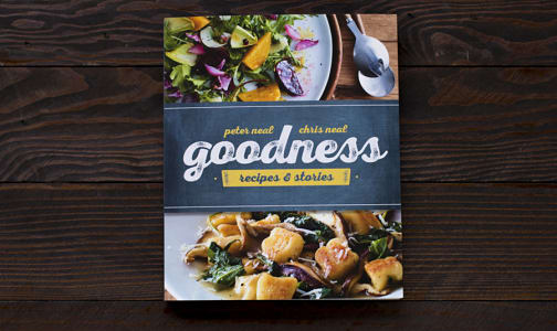 Goodness — Recipe & Stories — 50% of profits donated!- Code#: LL1120