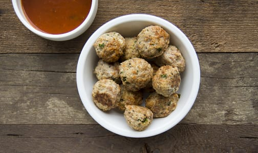 Turkey Meatballs with Tomato Sauce (Frozen)- Code#: LL115