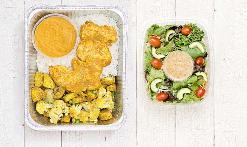 Butter Chicken & Salad Meal (Dinner for 4)- Code#: LLK104