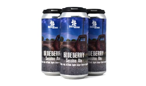 Blueberry Session Ale- Code#: LQ0026