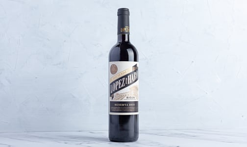 Lopez de Haro Rioja Reserva- Code#: LQ0077