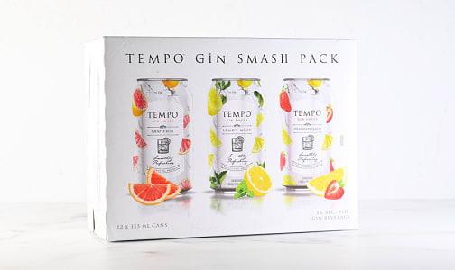 Tempo Gin Smash Mix Pack- Code#: LQ0099