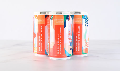 Pink Gin & Soda with Rasberry and Bitter Orange- Code#: LQ0101