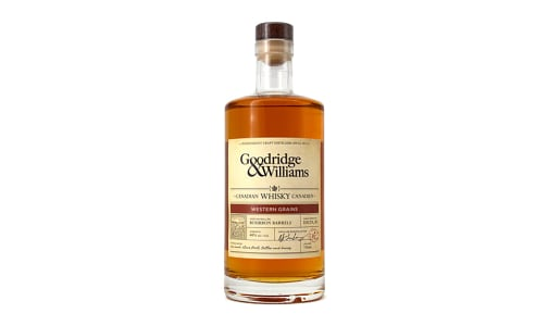 Goodridge & Williams - Western Grains Whiskey- Code#: LQ0129