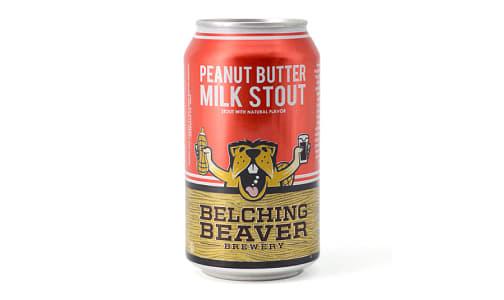 Belching Beaver - Peanut Butter Milk Stout- Code#: LQ0132