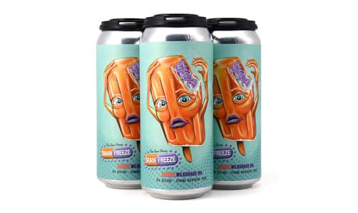 Brain Freeze Orange Milkshake IPA- Code#: LQ0136