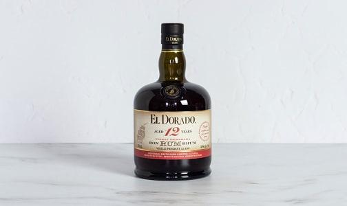 El Dorado - 12 Year Old Rum- Code#: LQ0195