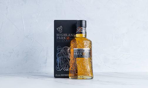 Highland Park Single Malt Scotch 12 Year- Code#: LQ0332