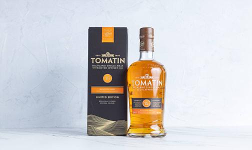 Tomatin Moscatel Single Malt Scotch 15 Year- Code#: LQ0339