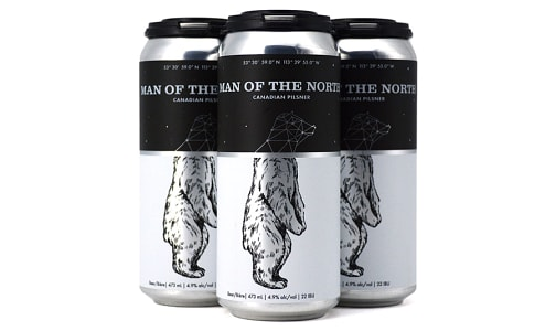 Man of the North Pilsner- Code#: LQ0464