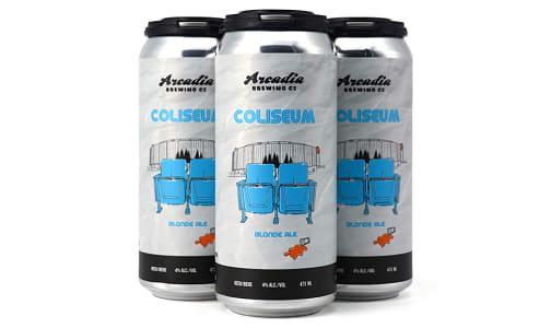 Coliseum Blonde Ale- Code#: LQ0467