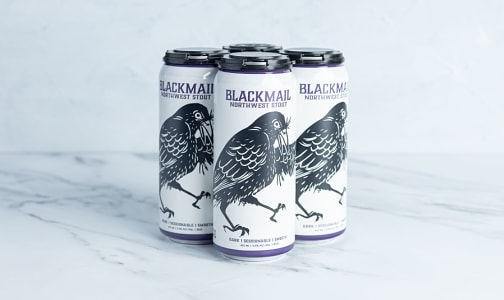 Blackmail Northwest Stout- Code#: LQ0478