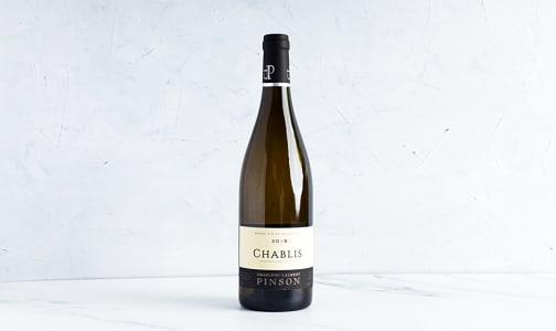 Domaine Pinson Chablis- Code#: LQ0543