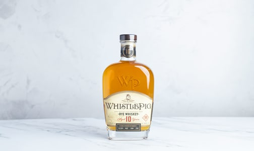 Whistlepig Rye Whiskey - 10 year old- Code#: LQ0705