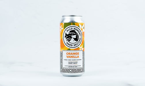 Orange Vanilla Hard Seltzer- Code#: LQ0874