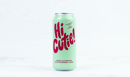 Hi Cutie! - Raspberry Mint Wheat Ale- Code#: LQ0882
