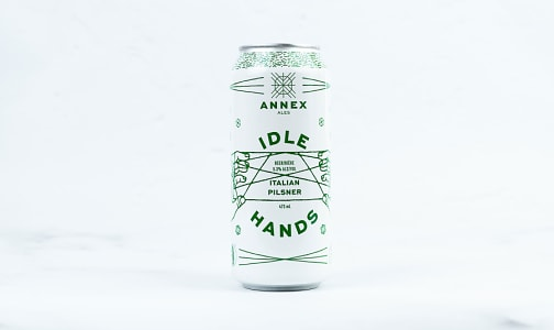 Idle Hands - Italian Pilsner- Code#: LQ0887