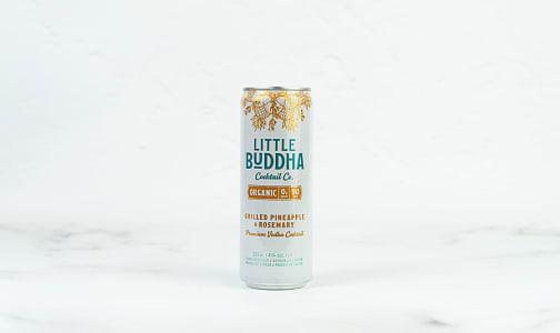 Organic Grilled Pineapple & Rosemary Vodka Soda- Code#: LQ0890