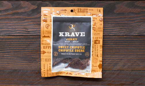 Sweet Chipotle Beef Jerky- Code#: MP0017