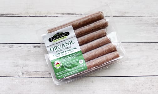 Organic Mild Italian, Chicken Sausage (Frozen)- Code#: MP0066