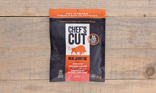 Slow Smoked Beef Jerky - Chipotle Cracked Pepper- Code#: MP0175