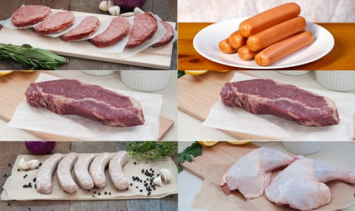 BBQ Pack for Two (Frozen)- Code#: MP0196