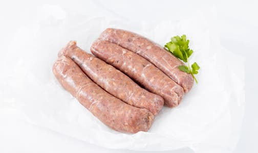 Turkey Maple Chili Sausages (Frozen)- Code#: MP0203