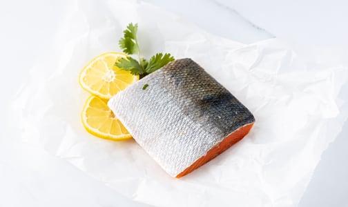 Sockeye Salmon Skin-on Boneless Portion (Frozen)- Code#: MP0228
