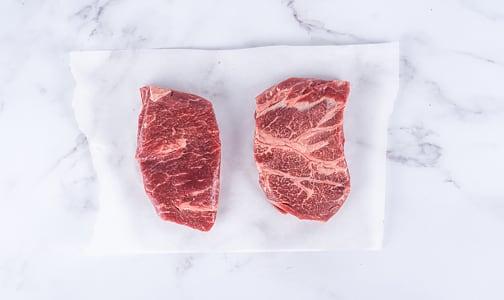 Top Sirloin Steak, Grass Fed/Grass Finished - Dry Aged (Frozen)- Code#: MP0236