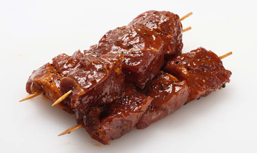 BBQ Marinated Beef Skewers, Grass Fed/Grass Finished (Frozen)- Code#: MP0253