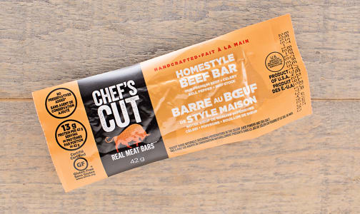 Homestyle Beef Bar- Code#: MP0284