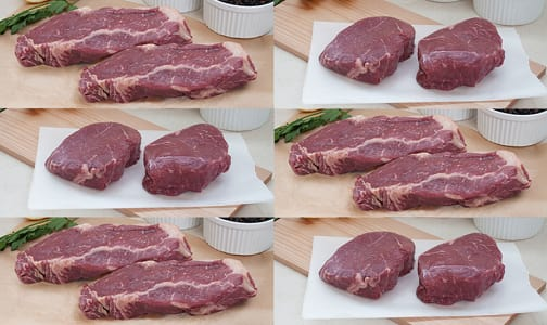 Alberta Grass Fed Beef, Father's Day Steak Pack (Frozen)- Code#: MP0305