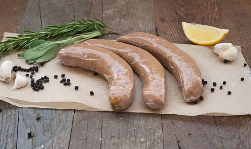 Turkey Breakfast Bangers - large- Code#: MP0321