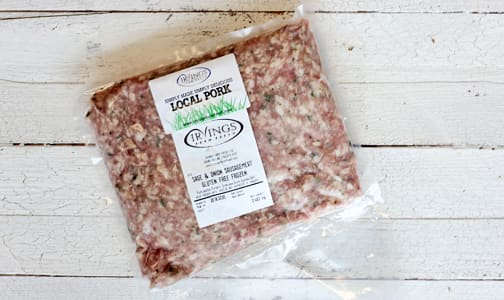 Sage & Onion Sausage meat (Frozen)- Code#: MP0459