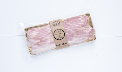 One Arrow Salt & Smoke Bacon (Frozen)- Code#: MP0483