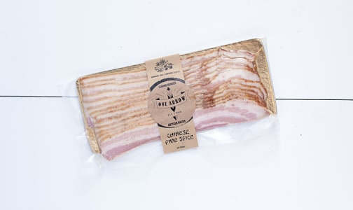 One Arrow Chinese Five Spice Bacon - (Frozen)- Code#: MP0484