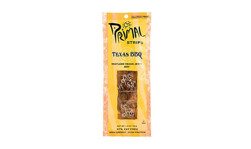 Texas BBQ Soy Vegan Jerky- Code#: MP0553
