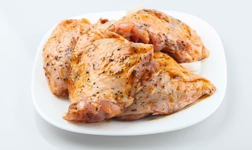 Greek Marinated Chicken Thighs (Frozen)- Code#: MP0561