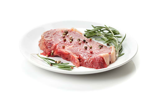 Peppered Round Steak, Grass Fed/Grass Finished- Dry Aged (Frozen)- Code#: MP0590