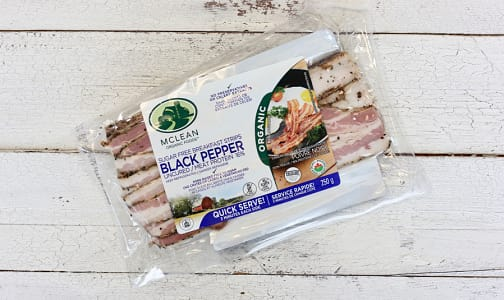 Organic Sugar-Free Black Pepper Bacon- Code#: MP0606