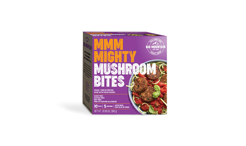 Mighty Mushroom Bites- Code#: MP0613