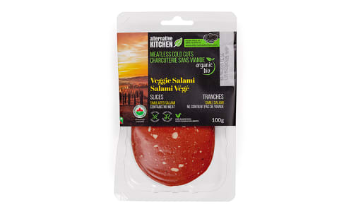 Organic Veggie Salami, Sliced- Code#: MP0929