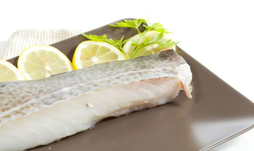 Ling Cod Portions - Skin On, Boneless (Frozen)- Code#: MP0964