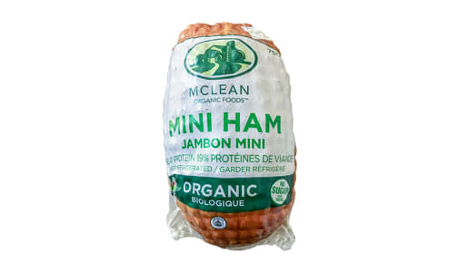 Organic Sugar Free Mini Ham- Code#: MP1063