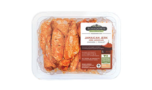 Jamaican Jerk Marinade RWA Chicken Wings (Frozen)- Code#: MP1071
