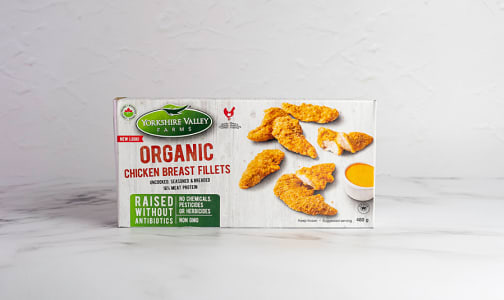 Organic Breaded Chicken Fillets (Frozen)- Code#: MP1079