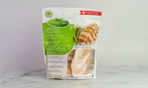Organic Frozen Chicken Breast, Boneless, Skinless (Frozen)- Code#: MP1085