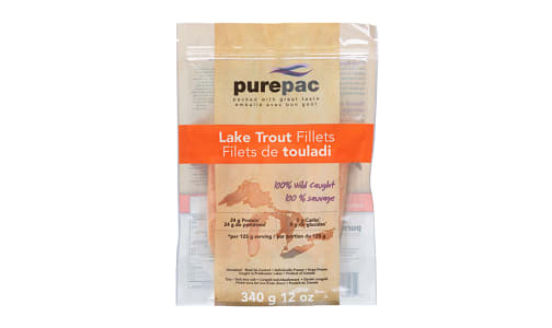 Lake Trout Fillets, Wild Caught (Frozen)- Code#: MP1107