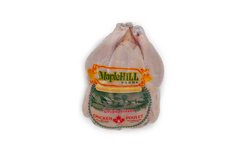 Maple Hill Unmedicated/Free Run Whole Chicken (Frozen)- Code#: MP1140