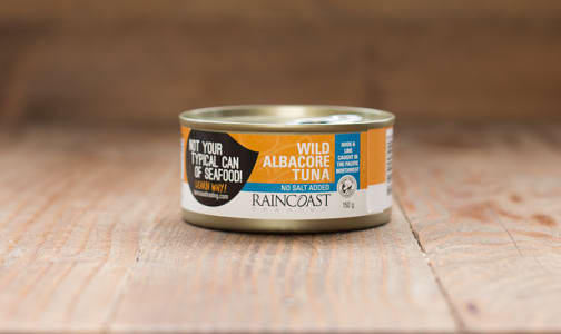 Canned Solid White Albacore Tuna - NO SALT ADDED- Code#: MP115